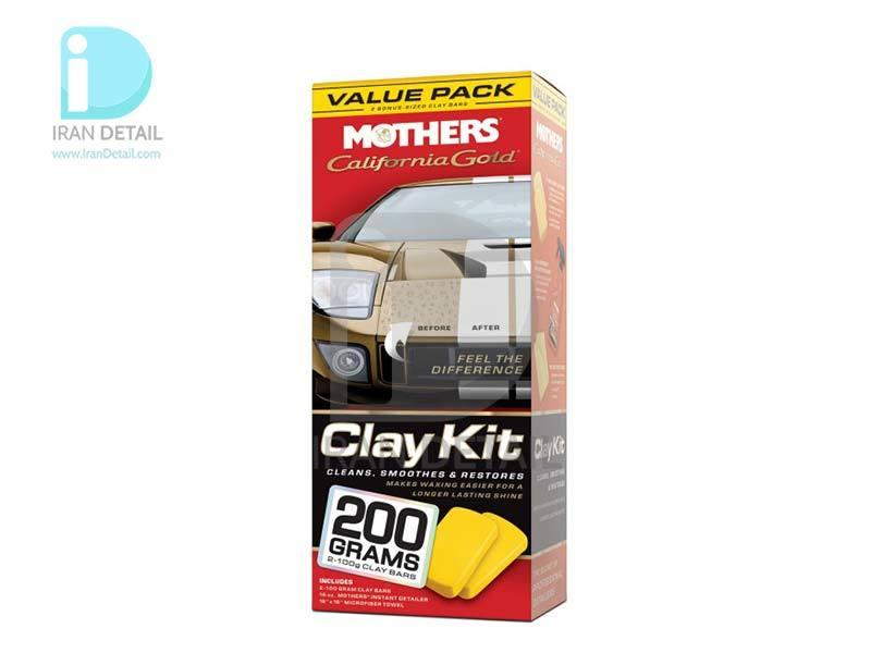کيت کامل خمیر کلی مادرز 7240 Mothers Clay Bar Value Pack