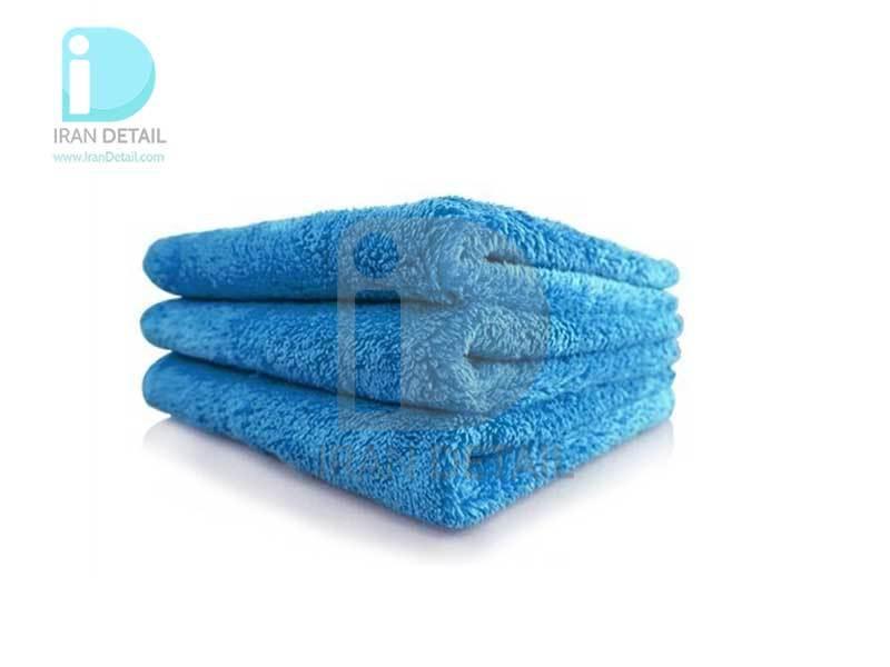 حوله مایکروفایبر 3 عددی 500 گرم 40*40 مکس شاین MaxShine Microfiber Wax Removal Towel
