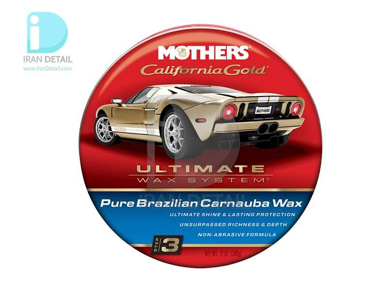 واکس کارناوبای خمیری مرحله 3 مادرز Mothers Pure Brazilian Carnauba Wax—Step 3 5550
