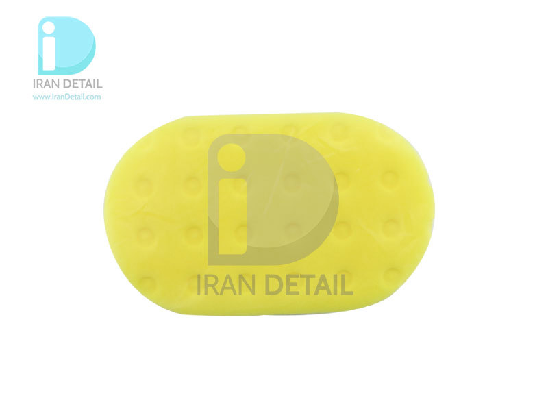 پد واکس داخل کابین خودرو سفید زرد مکس شاین 9011007 MaxShine Waxing Foam Applicatorپد واکس داخل کابین خودرو سفید زرد مکس