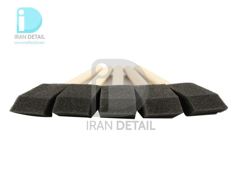 بسته 5 عددی برس فومی دیتیلینگ خودرو مدل Valet Pro Foam Detailing Brush BRU23