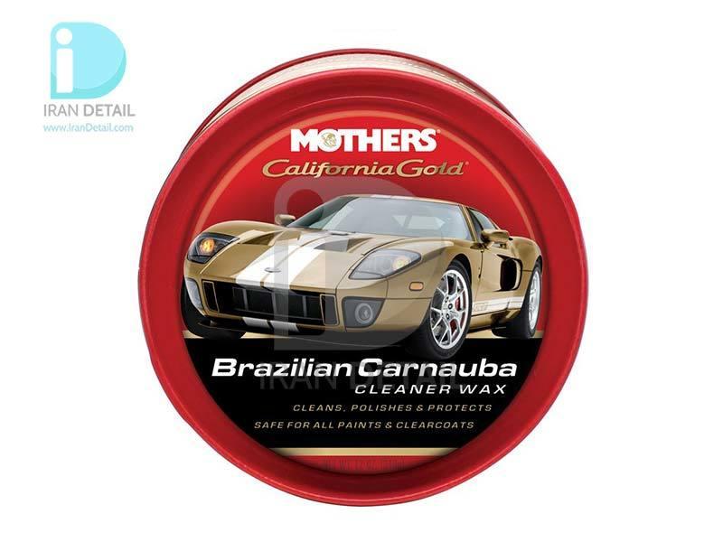 واکس و پولیش خمیری کارنابای برزیلی مادرز Mothers Brazilian Carnauba Cleaner Wax 5500