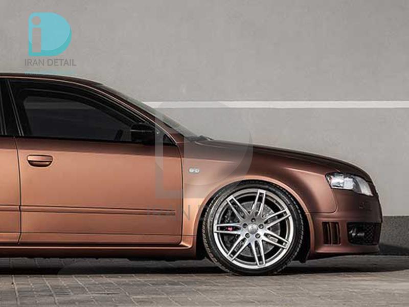 کاور محافظتی پی وی سی مخصوص خودرو رول 25 متری هکزیس مدل Hexis SkinTac HX20MMAM Marrakesh Brown