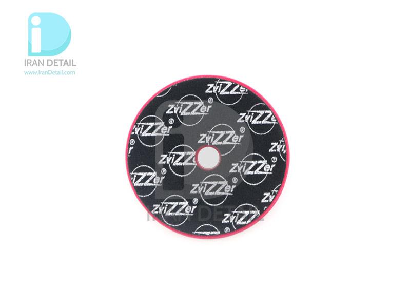 پد پولیش زبر اوربیتال قرمز زیزر 125 ميلی متری مدل Zvizzer Trapez Pads Red Cutting Pad TR00014525HC