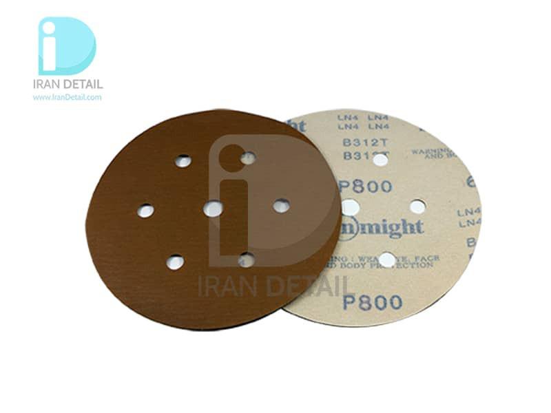 ورق سنباده دیسکی (دایره ای) سان مایت مدل Sunmight Abrasive Sheet P800