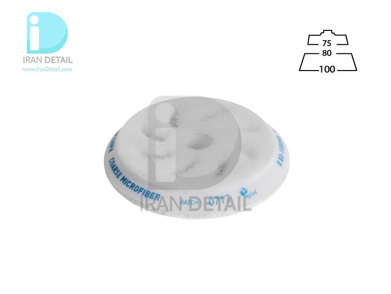 پد پولیش مایکروفایبر زبر 80 میلی متری مخصوص دستگاه پولیش اوربیتال روپس مدل Rupes Coarse Microfiber Polishing Pad BF100FH