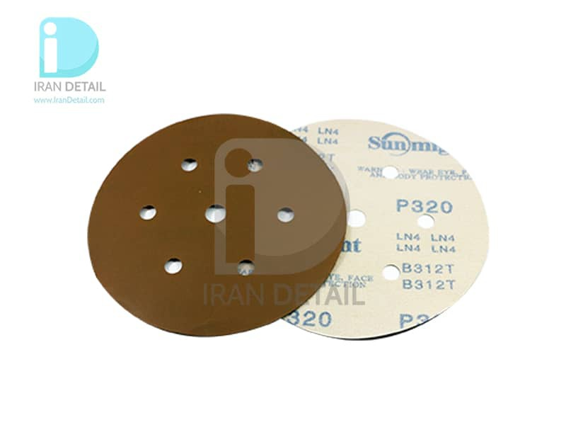 ورق سنباده دیسکی (دایره ای) سان مایت مدل Sunmight Abrasive Sheet P320