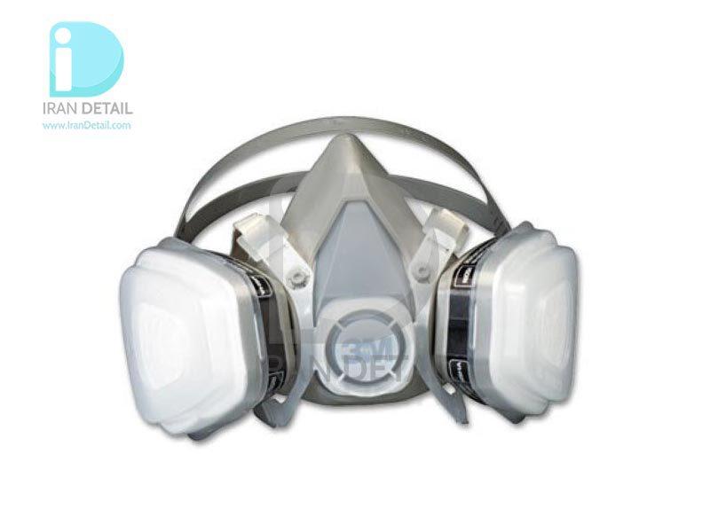 ماسک نیم صورت دو فیلتر تری ام 3M Mask Half Facepiece 52P71