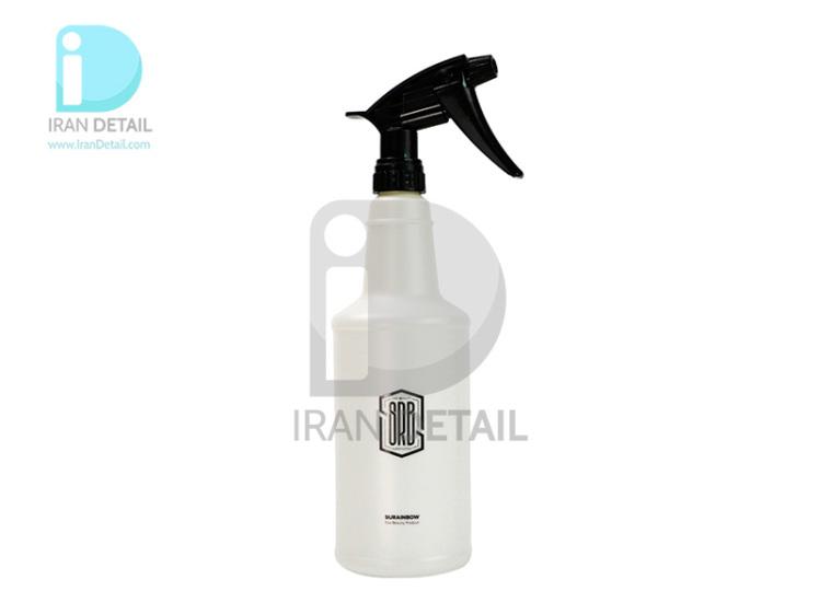 ظرف اسپری پاشش مایعات سورین بو مشکی مدل SURAINBOW Hand Pressure Spray Bottle T661