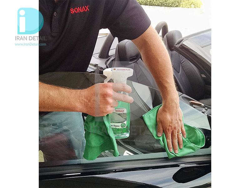 اسپری شیشه پاک کن 500 میلی لیتری سوناکس SONAX Clear Glass