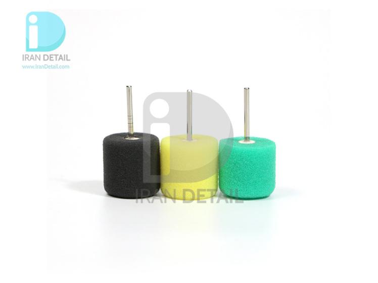 کیت پد پولیش استوانه ای 3 عددی سورین بو مدل SURAINBOW Detail Polisher Elipse Pad t014