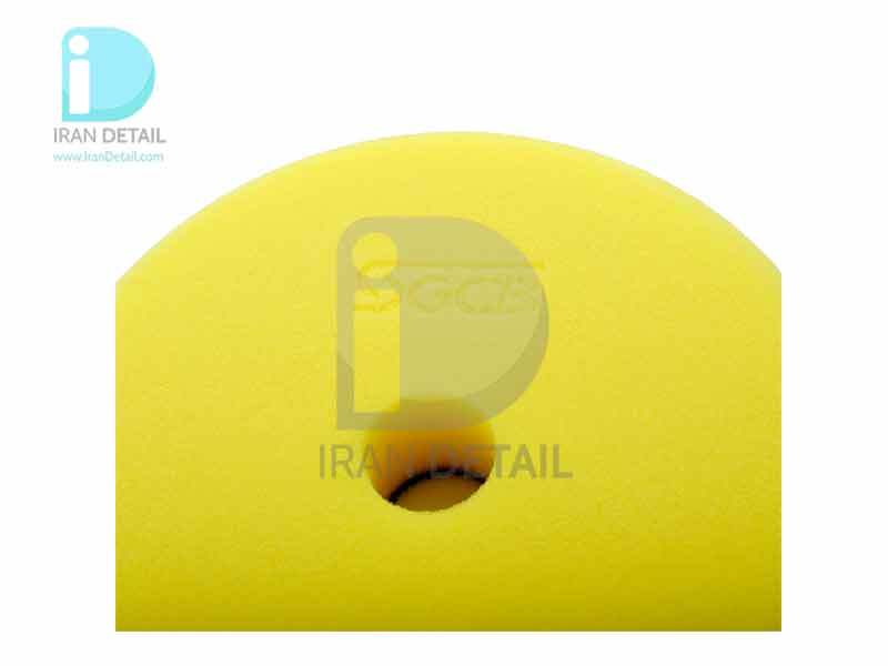 پد پولیش نرم زرد اس جی سی بی 75 میلی متری SGCB Foam Cutting Pad Hook & Loop Yellow 3inches SGGA107