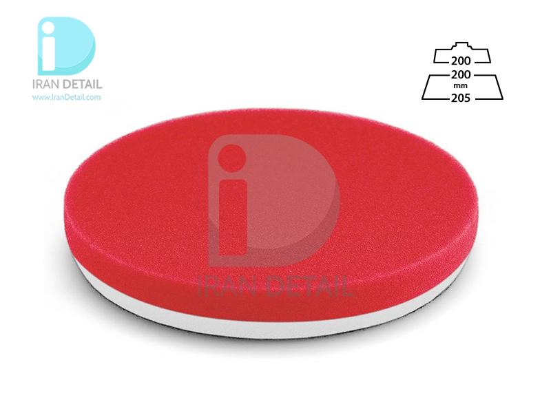 پد پولیش نرم قرمز سایز 200 میلی متری فلکس Flex Polishing Sponge Red Soft Foam 200mm