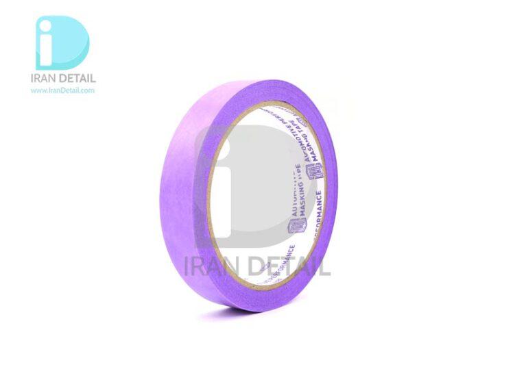 چسب ماسکه بنفش مخصوص پولیش خودرو سورین بو مدل SURAINBOW Masking Tape Purple t650p