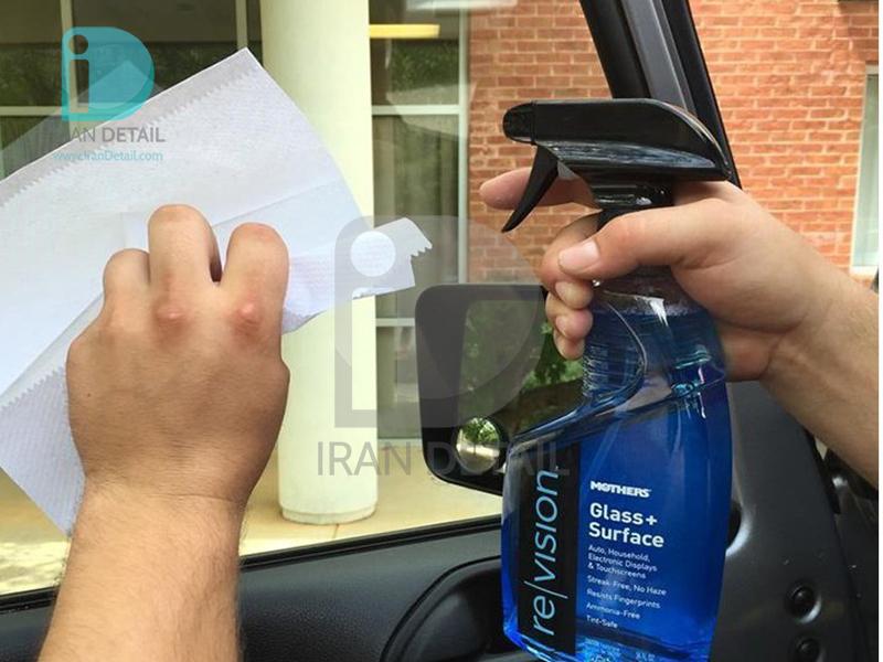 اسپري تميز و براق کننده شيشه مادرز 6624 Mothers revision Glass+Surface Cleaner