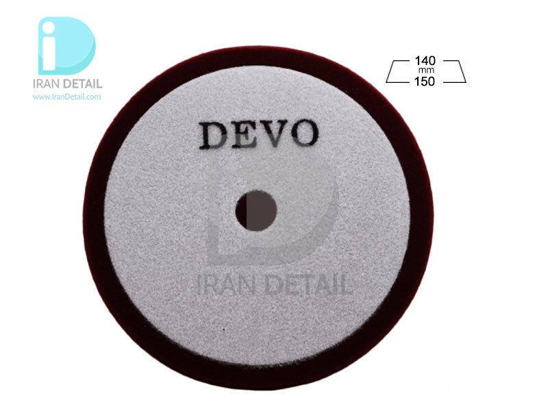 پد پولیش زبر روتاری دوو مدل Devo Cutting Sponge Pad E09D-C
