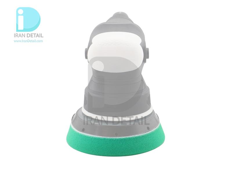 پد پولیش زبر اوربیتال سبز 150 میلی متری اس آر اس مدل SRS Orbital Hard Polishing Pad Green