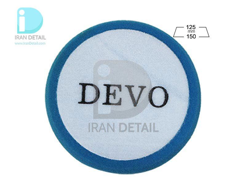 پد پولیش متوسط روتاری دوو مدل Devo Cutting Sponge Pad J01A-P