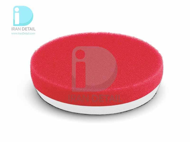 پد پولیش نرم قرمز سایز 80 میلی متری فلکس 2تایی Flex Polishing Sponge Red Soft Foam 80mm