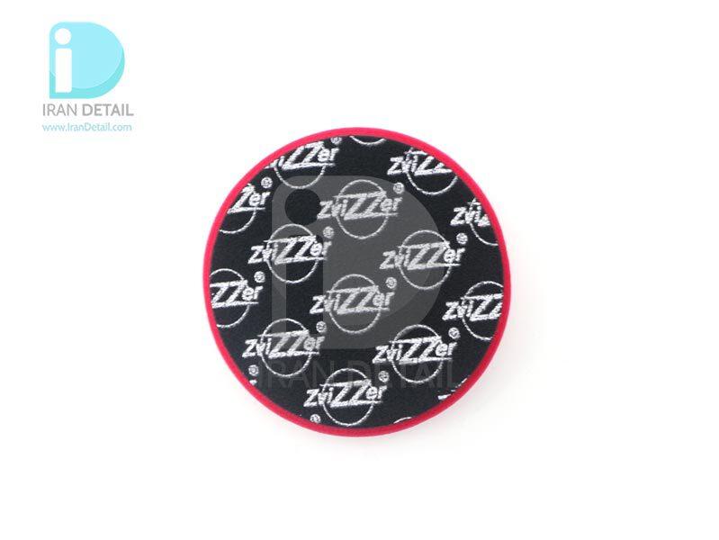 پد پولیش زبر روتاری قرمز زیزر 130 ميلی متری مدل Zvizzer Rotary Coarse Pad Red ED00015020HC