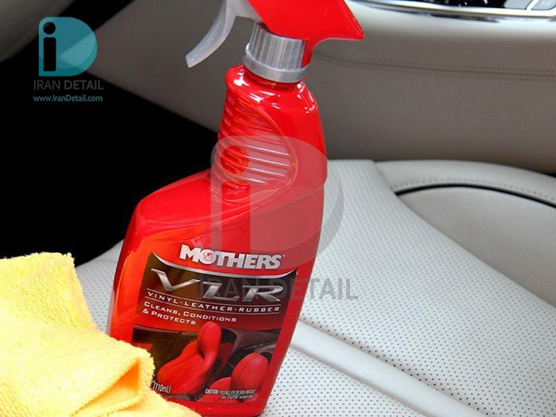اسپري تميز کننده و محافظ چرم، پلاستيک وينيل مادرز 6524 Mothers VLR – Vinyl•Leather•Rubber Care