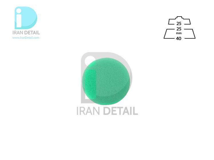 پد پولیش متوسط سبز 25 میلی متری مدل Medium Polishing Pad Green 1inch