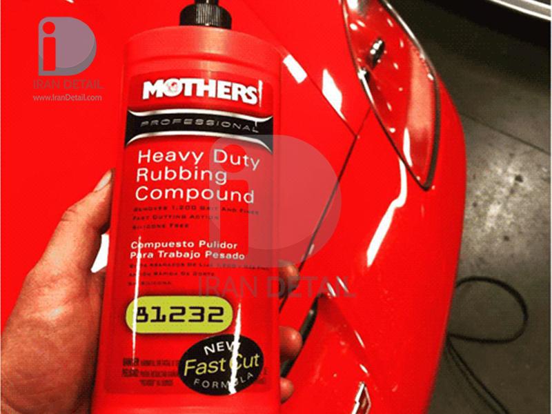 مایع پوليش متوسط یک لیتری حرفه ای مادرز مدل Mothers Professional Rubbing Compound 81132
