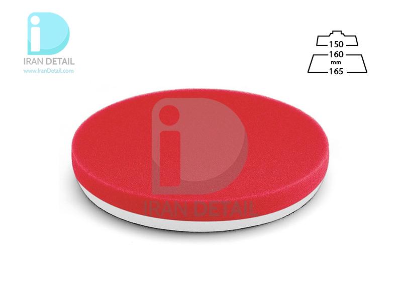 پد پولیش نرم قرمز سایز 160 میلی متری فلکس Flex Polishing Sponge Red Soft Foam 160mm