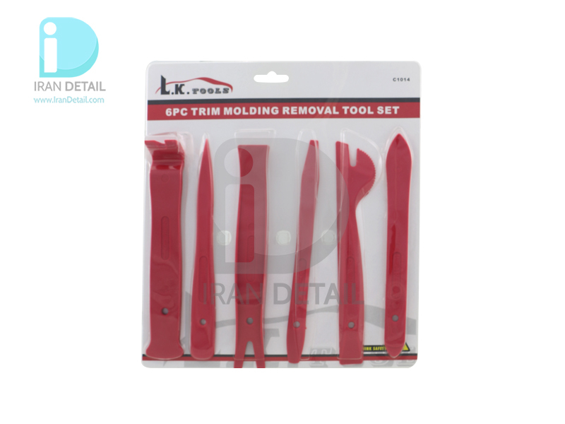 کیت شش عددی خارکش رودری و داشبورد و پنل درار پلاستیکی مدل LK Tolls Panel Removal Set 6