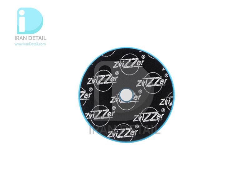 پد پولیش بسیار زبر اوربیتال آبی زیزر 125 ميلی متری مدل Zvizzer Trapez Pads Blue Heavy Cutting Pad TR00014525PC