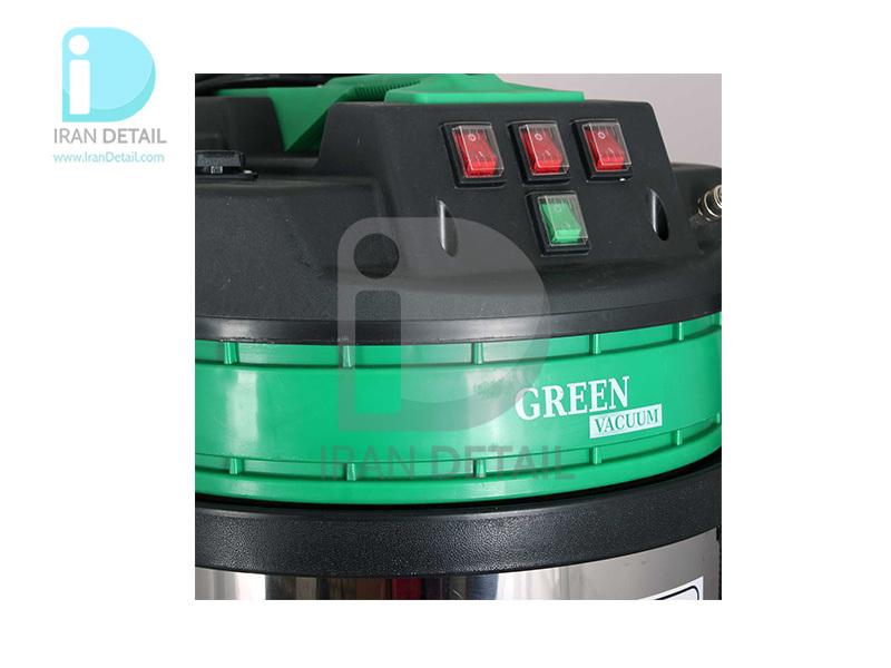 دستگاه مبل شوی و صفرشویی 3 موتور گرین مدل Green Vacuum Cleaner Wet & Dry 1200