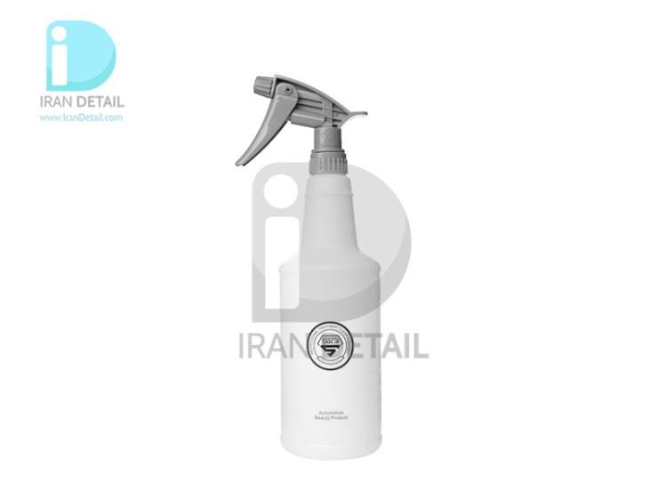 ظرف اسپری پاشش مایعات طوسی اس جی سی بی مدل SGCB Chemical Resistant Gray Sprayer with Bottle SGGD139