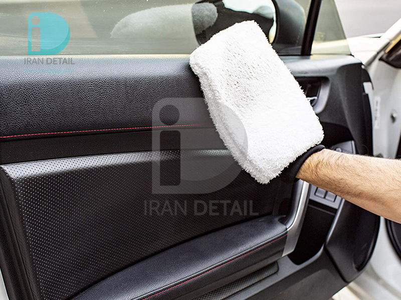 دستکش مایکروفایبر مخصوص شستشو خودرو مگوایرز مدل Meguiars Microfiber Wash Mitt X3002