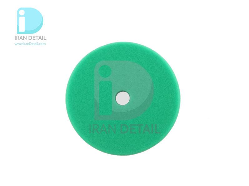 پد پولیش زبر روتاری سبز 125 میلی متری اس آر اس مدل SRS Rotary Coarse Polishing Pad Green R13525125G