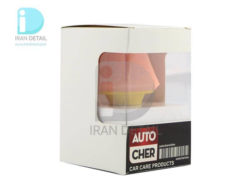 پد پولیش مخروطی مخصوص دریل اتوچر 80 میلی متری مدل AutoCher Mini Pad 80mm