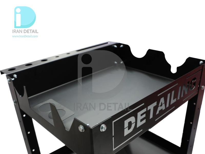 میز ترولی سه طبقه مخصوص مراکز دیتیلینگ طرح 2074 Detailing Trolley