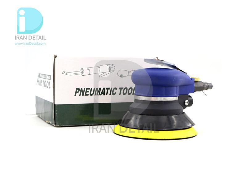 سندر بادی (پنوماتيك) سايز 125 میلی متر آبی مدل Pneumatic Tools 5inches