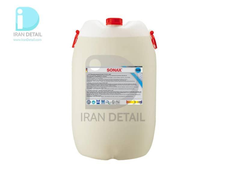 فوم تمیزکننده فعال با رایحه مرکبات سوناکس 25 لیتری مدل SONAX Active Cleaning Foam Citrus 25Litre