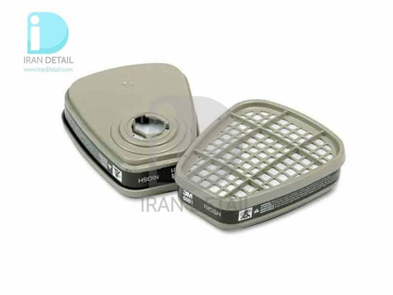 فیلتر ماسک تری ام مدل 3M Organic Vapor Cartridge 6001