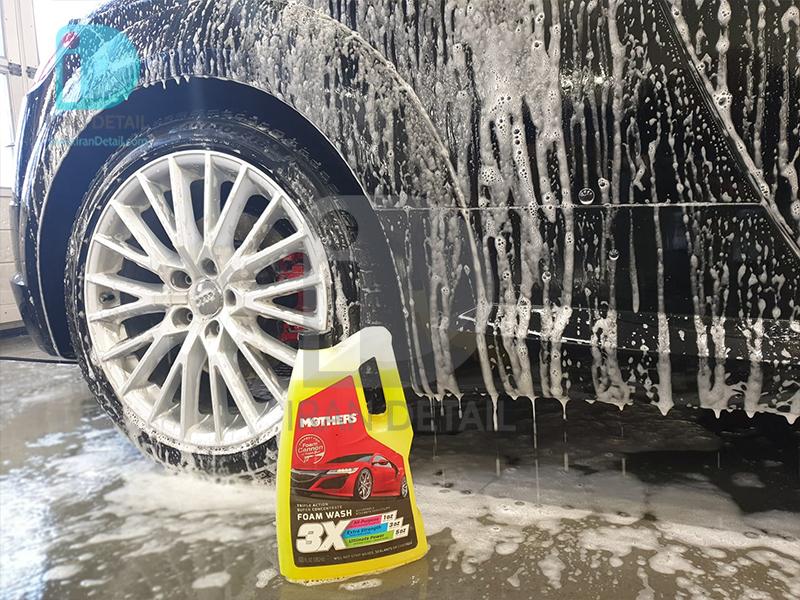 شامپو تاچ لس 3 لیتری مادرز مدل 5610 Mothers Triple Action Foam Wash