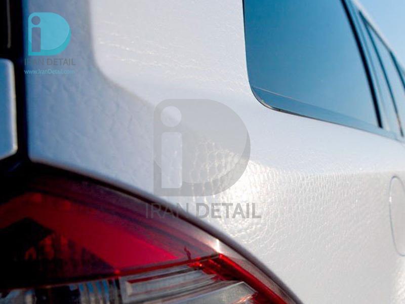 کاور محافظتی پی وی سی مخصوص خودرو رول 25 متری هکزیس مدل Hexis SkinTac HX30AL003B Glacier White Alligator Gloss