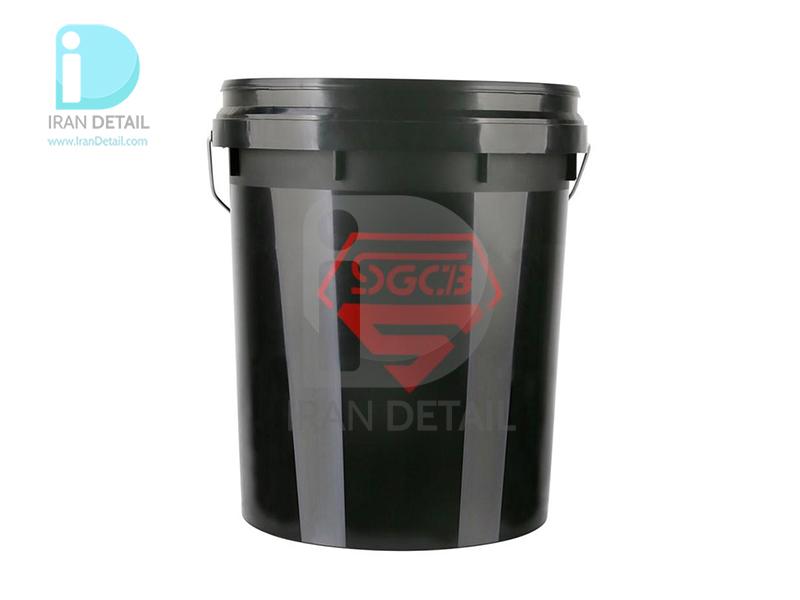 سطل شستشو 18 لیتری مشکی اس جی سی بی مدل SGCB Wash Bucket Black SGGD 226