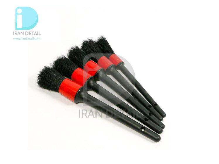 کیت پنج عددی قلم دیتیلینگ قرمز پلی بگ سورین بو مدل SURAINBOW Detailing Brush Poly Bag Red