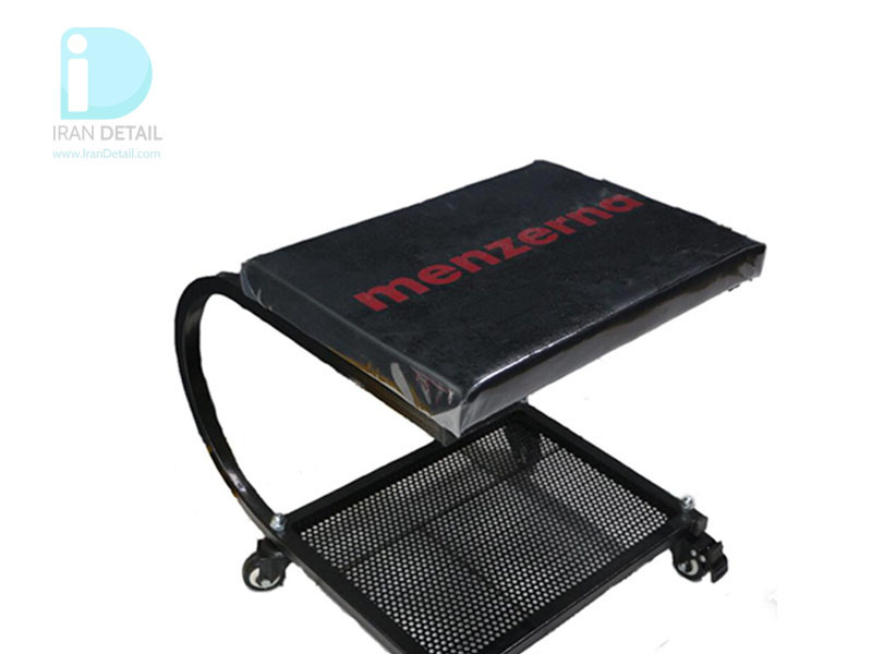 صندلی چرخدار تعمیرگاهی مدل Detailing Seat With Menzerna Logo