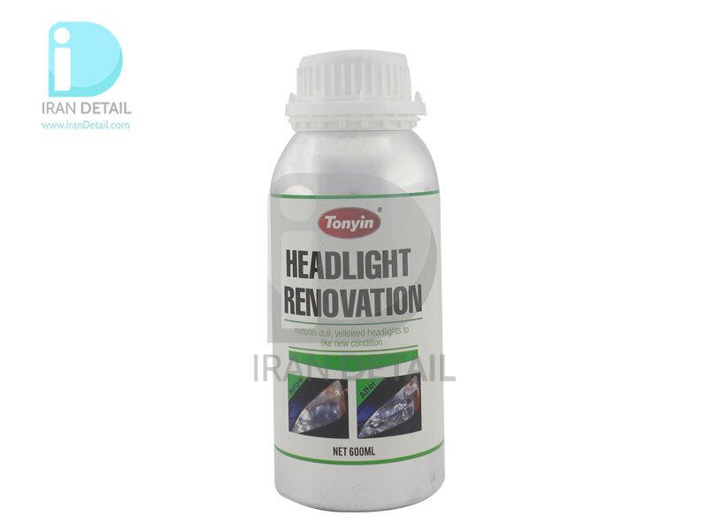 مایع دستگاه براق کننده چراغ خودرو مخصوص رفع ماتی چراغ خودرو مدل تونین headlight renovation
