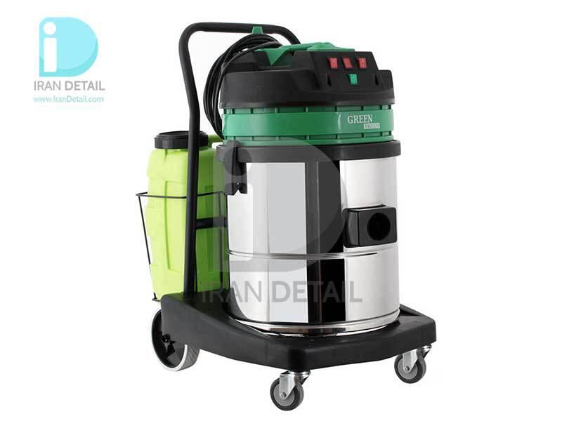 دستگاه مبل شوی و صفرشویی 2 موتور گرین مدل Green Vacuum Cleaner Wet & Dry 850C
