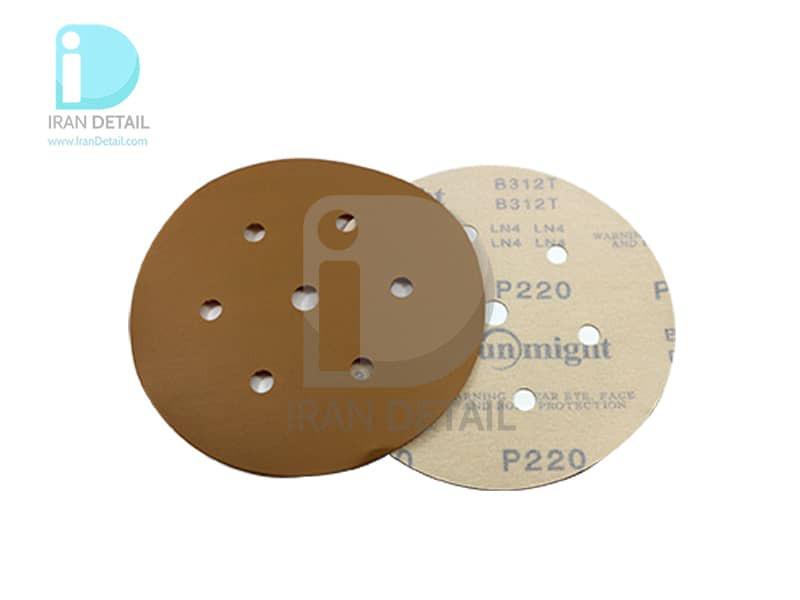 ورق سنباده دیسکی (دایره ای) سان مایت مدل Sunmight Abrasive Sheet P220