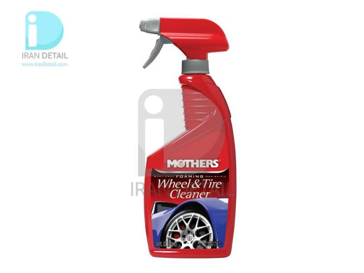 فوم شوینده رینگ و لاستیک مادرز Mothers Foaming Wheel & Tire Cleaner 5924