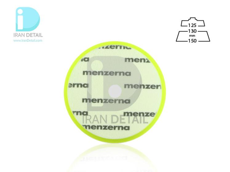 پد پولیش نرم سبز سایز 130 میلی متری منزرنا Menzerna Soft Cut Foam Pad 130 mm