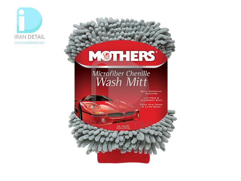 دستکش مخصوص شستشو خودرو مایکروفایبر مادرز MOTHERS Microfiber Chenille Wash Mitt 156400